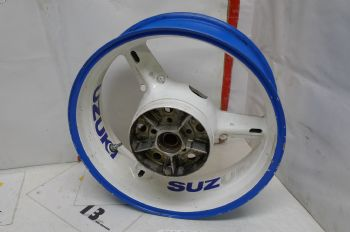 SUZUKI SV1000 BREAKING. REAR WHEEL J17 /XMT 5.50 BOG 03 ((WEB-STOCK))((A=SK))(CON-B)